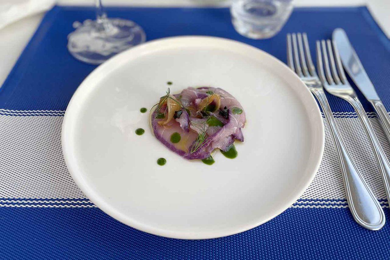 ristorante la Scialuppa da Salvatore a Fregene ricciola