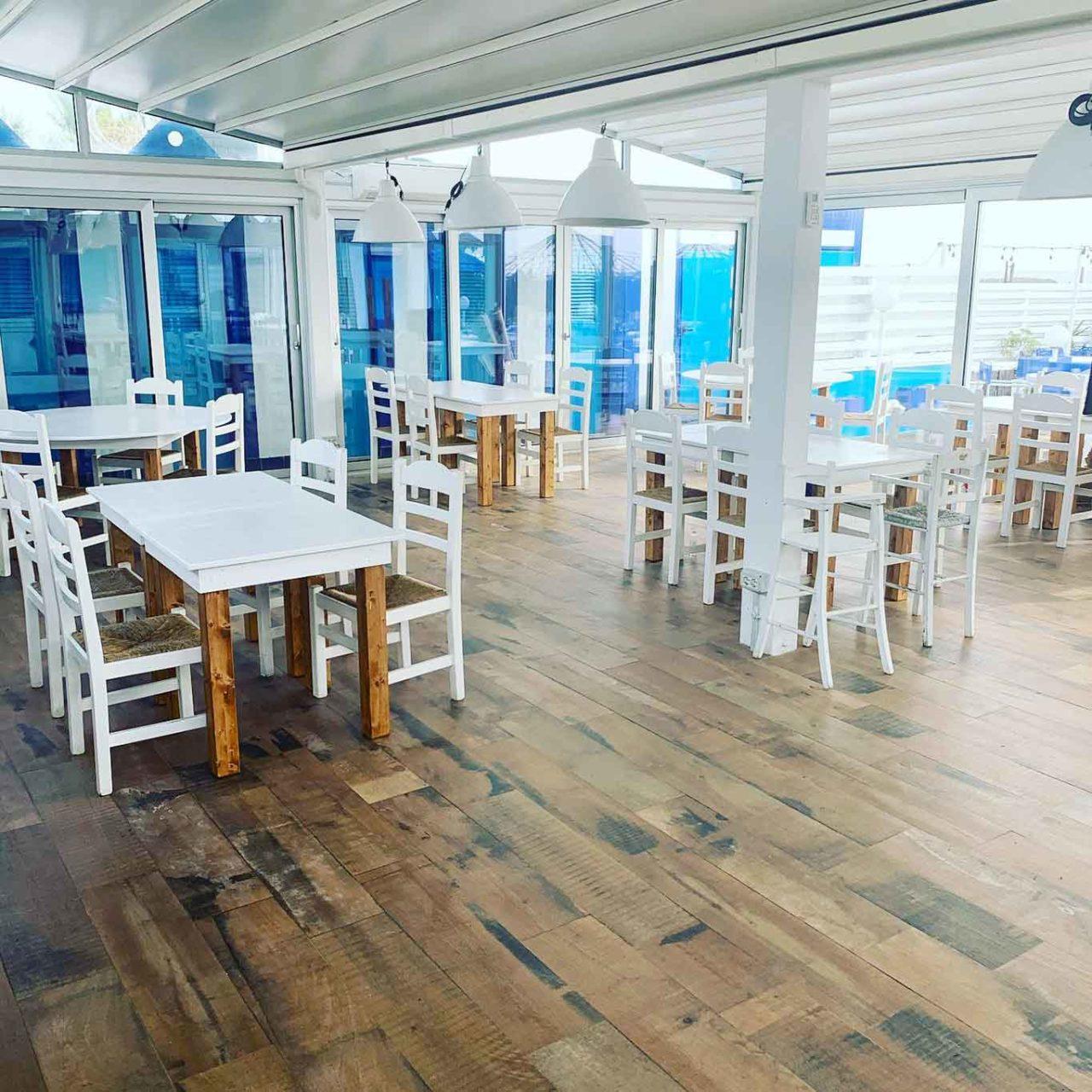 ristorante sul mare di Fregene