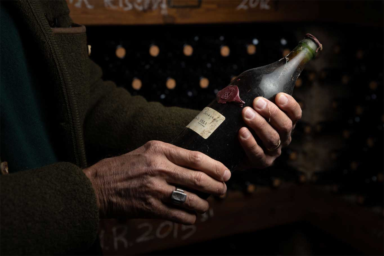 Sagrantino vino 100 anni Tenuta di Saragano