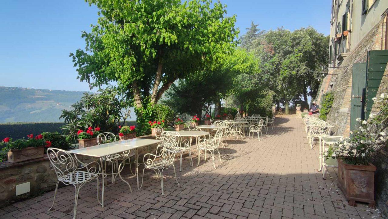 wine resort La Ghirlanda dehors