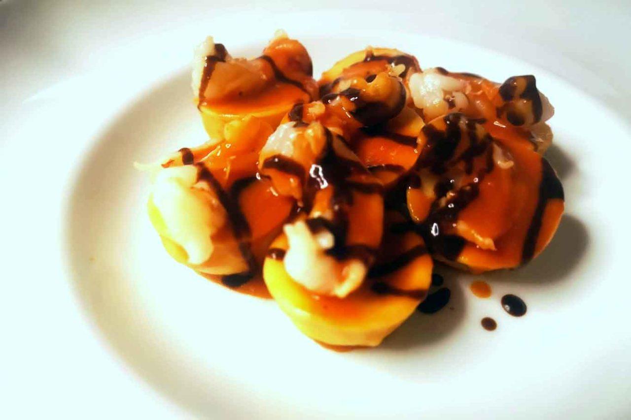 Angelo Sabatelli ristorante Putignano Puglia bottoni di purea di fave