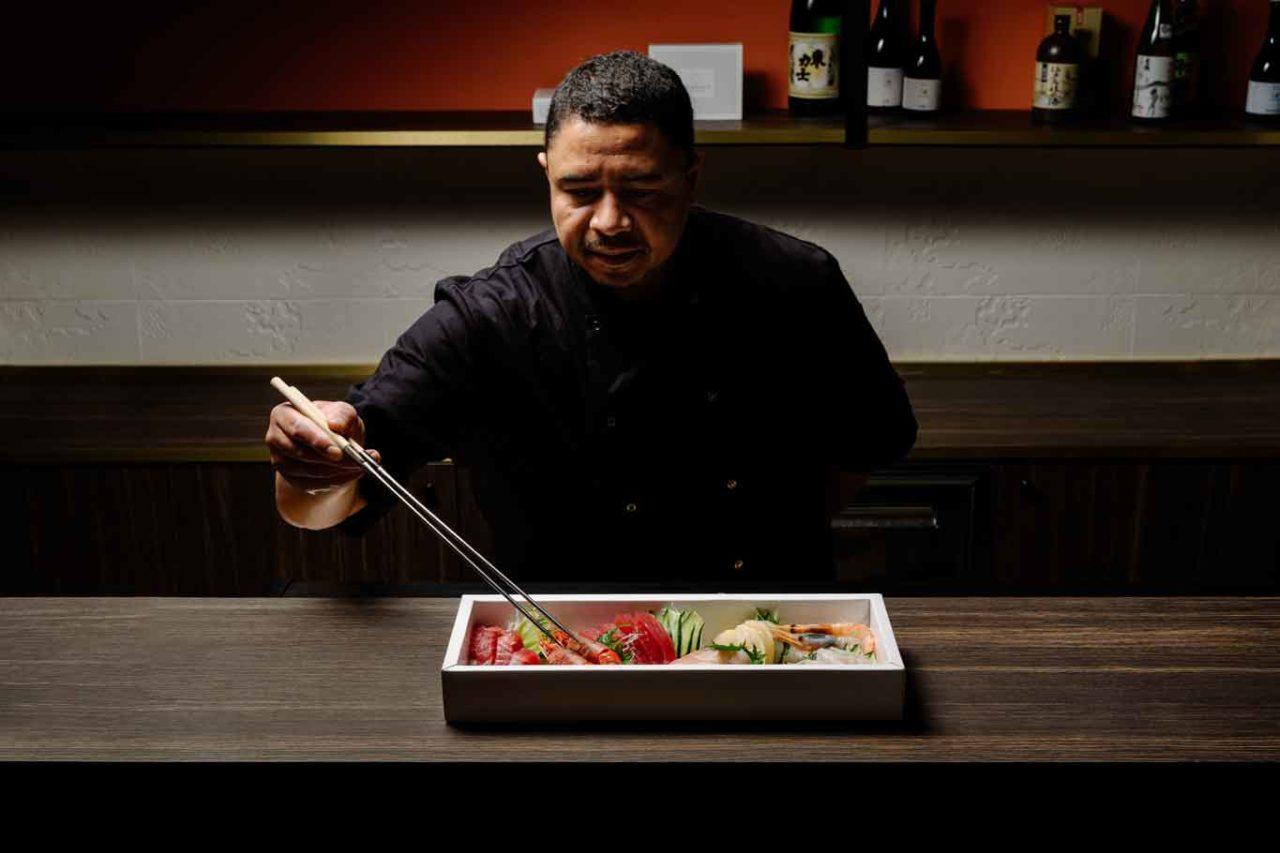 Armonico sushi milano Chef Josef de Souza
