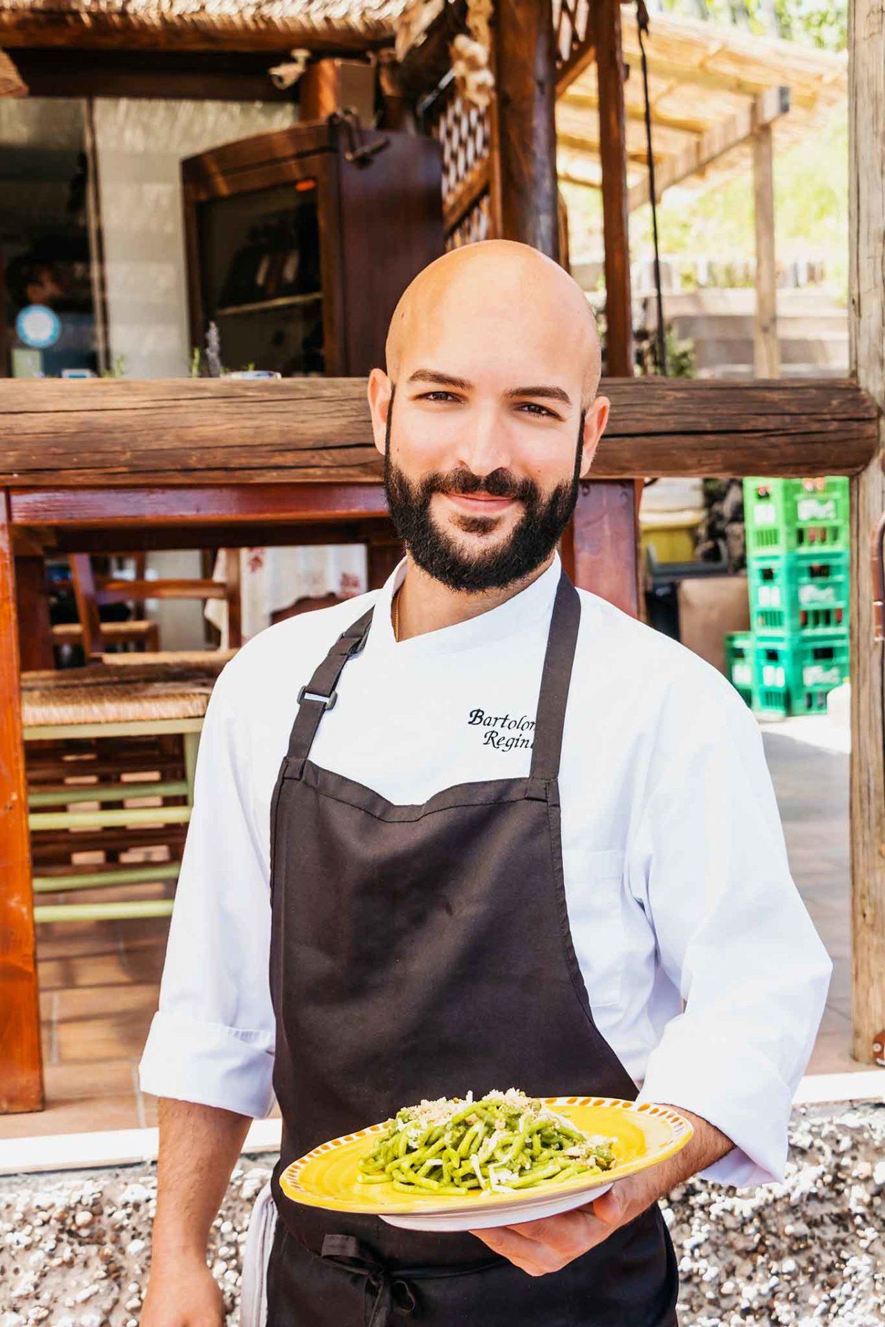 giovane cucina a Ischia: Bartolomeo Regine