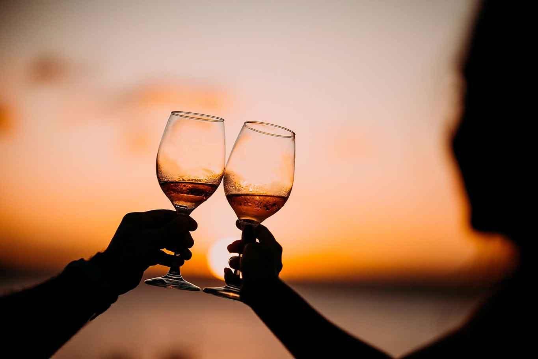 calici bere in estate