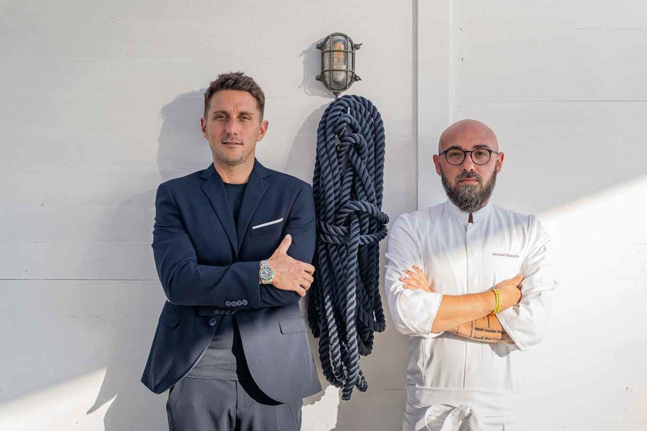 Emanuel Bistrot Isola d'Elba proprietario e chef