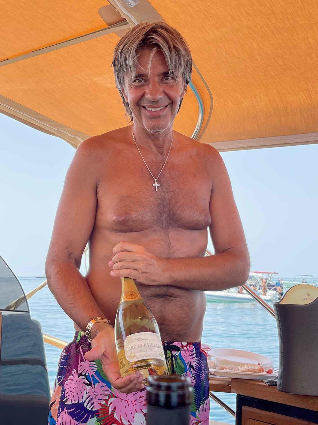 champagne Bruno Paillard e Fabio Esposito
