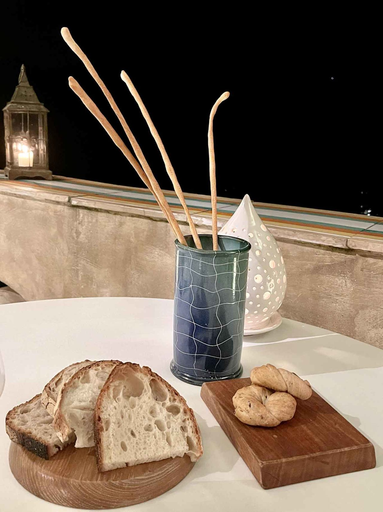 Flauto di Pan ristorante Ravello: pane