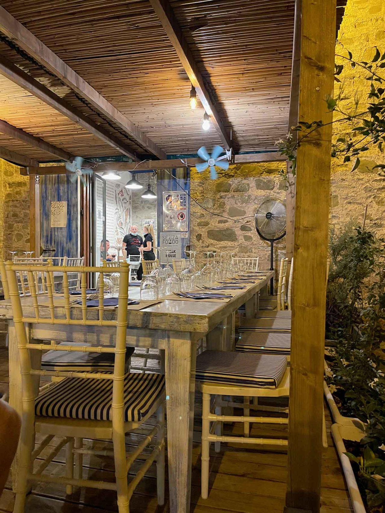 La Taverna del Guarracino a Acciaroli