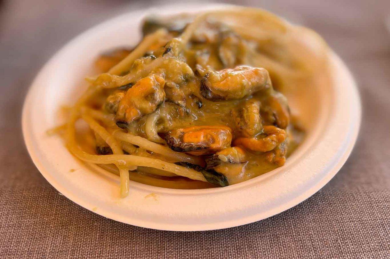 spaghetti Nerano di Cozze