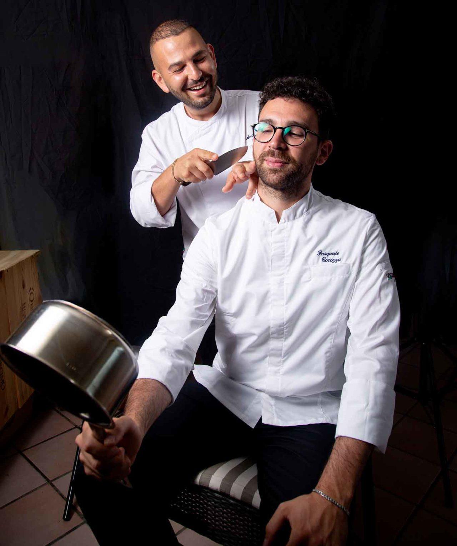 giovane cucina a Ischia: Pasquale Cocozza e Antonio Prota