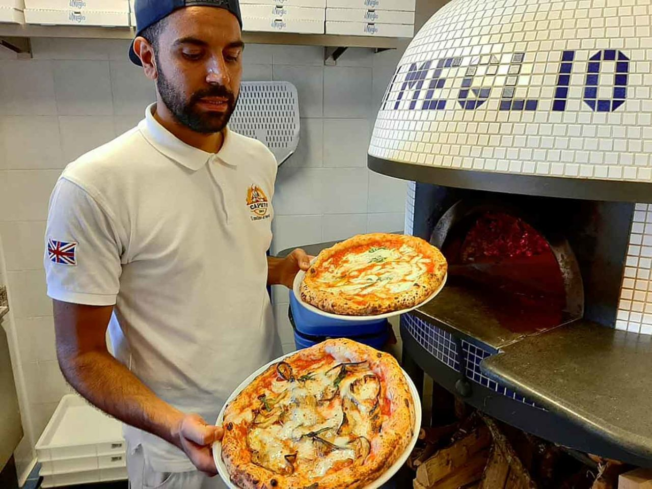 giovane cucina a Ischia: Riccardo Di Meglio