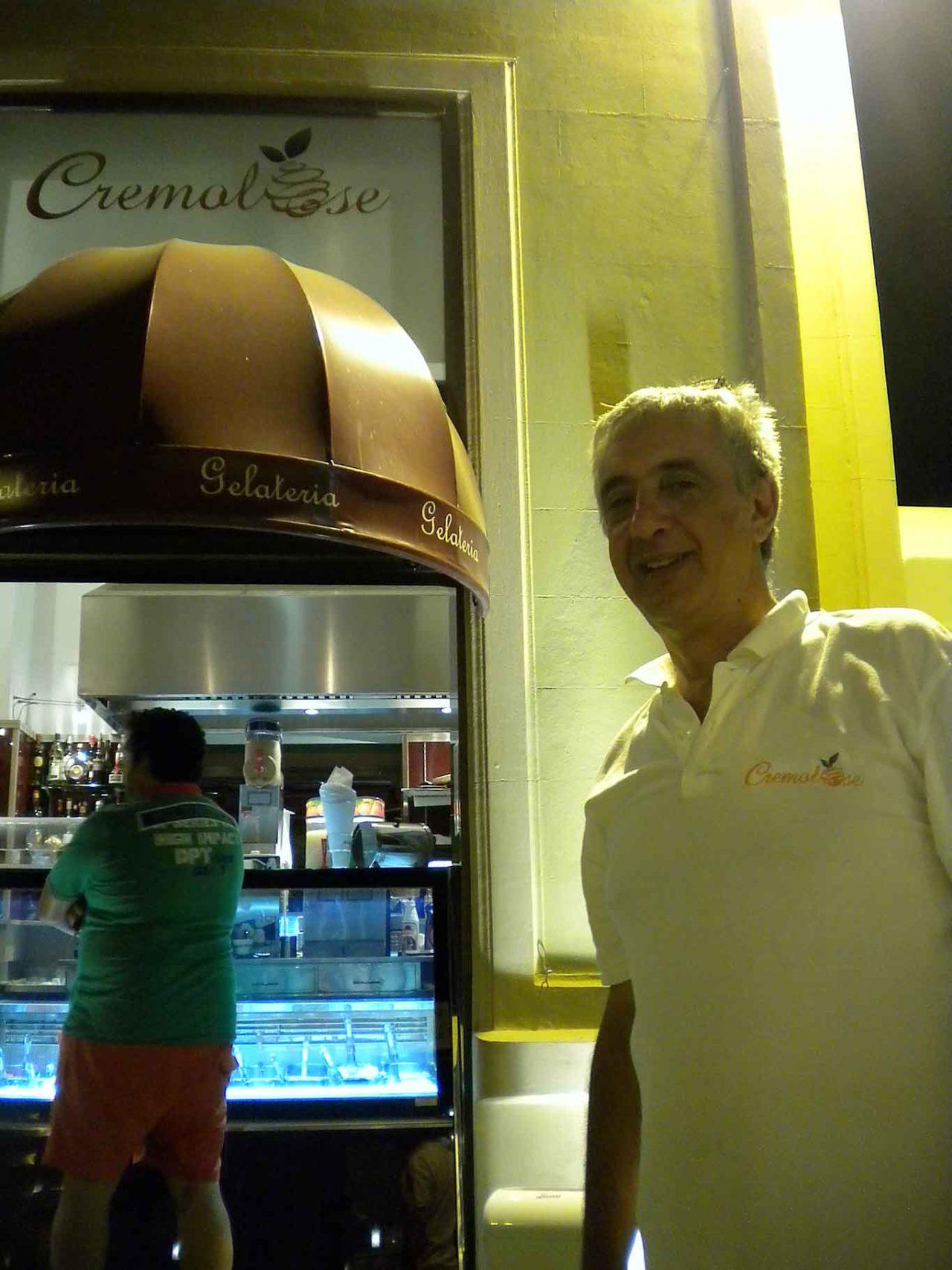 street food a Palermo: Cremolose