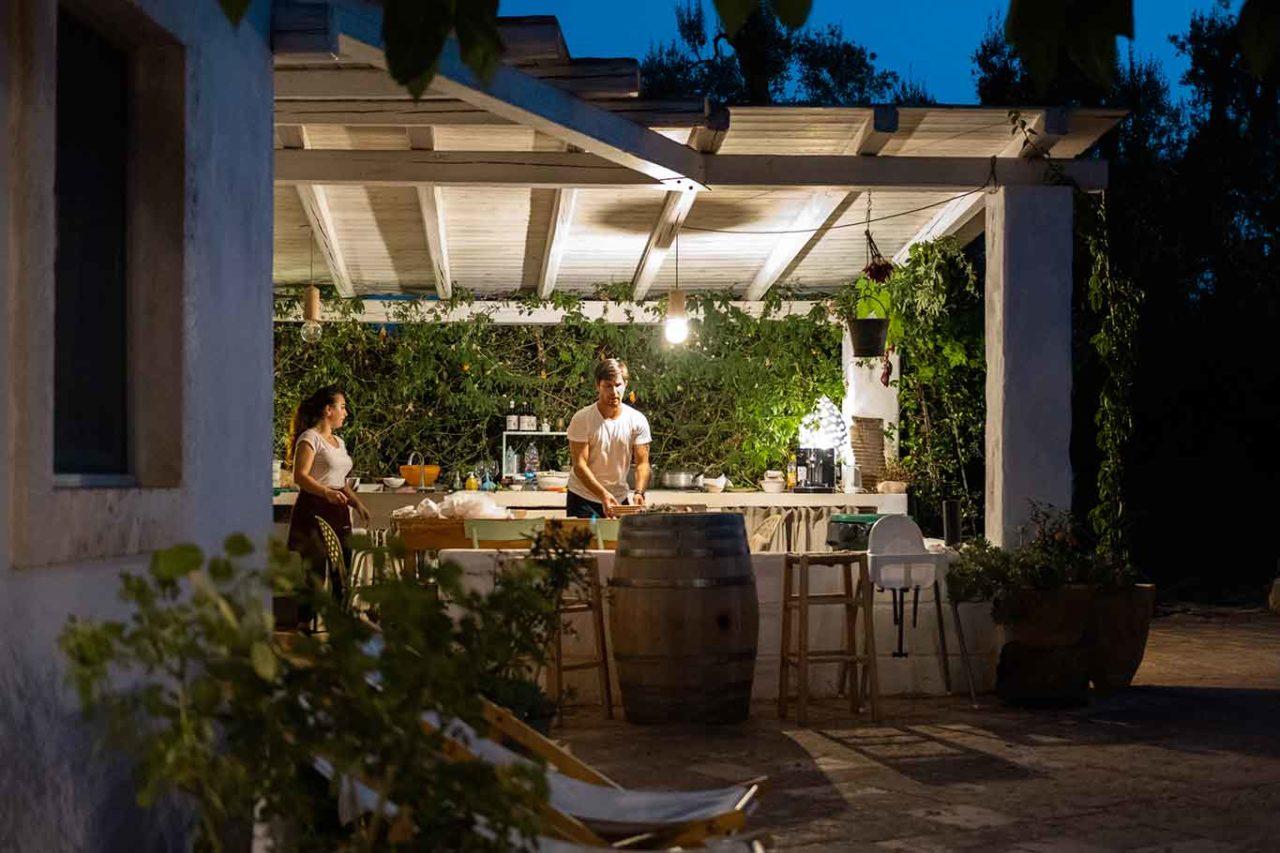 Trullo Santangelo Ceglie Messapica Puglia cucina