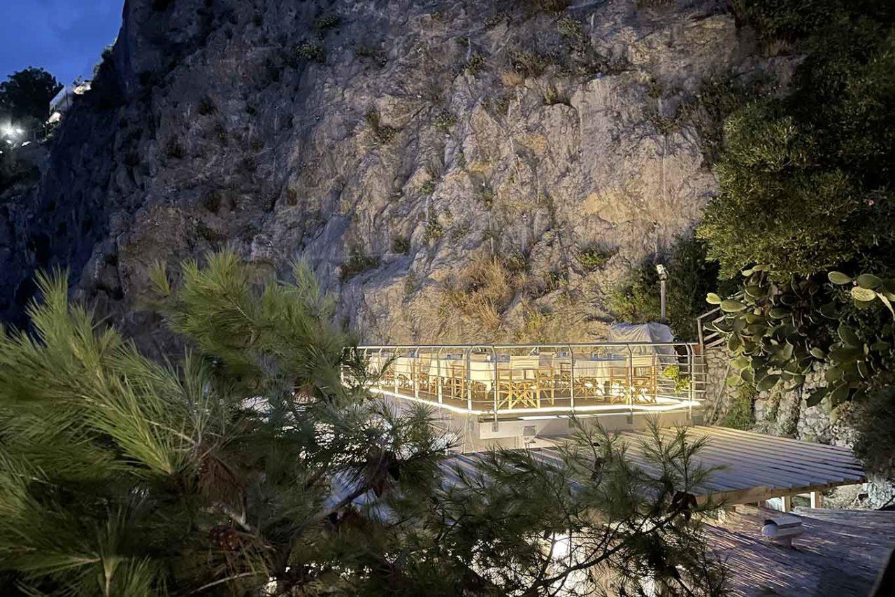 La Crestarella ristorante Vietri sul Mare piattaforma