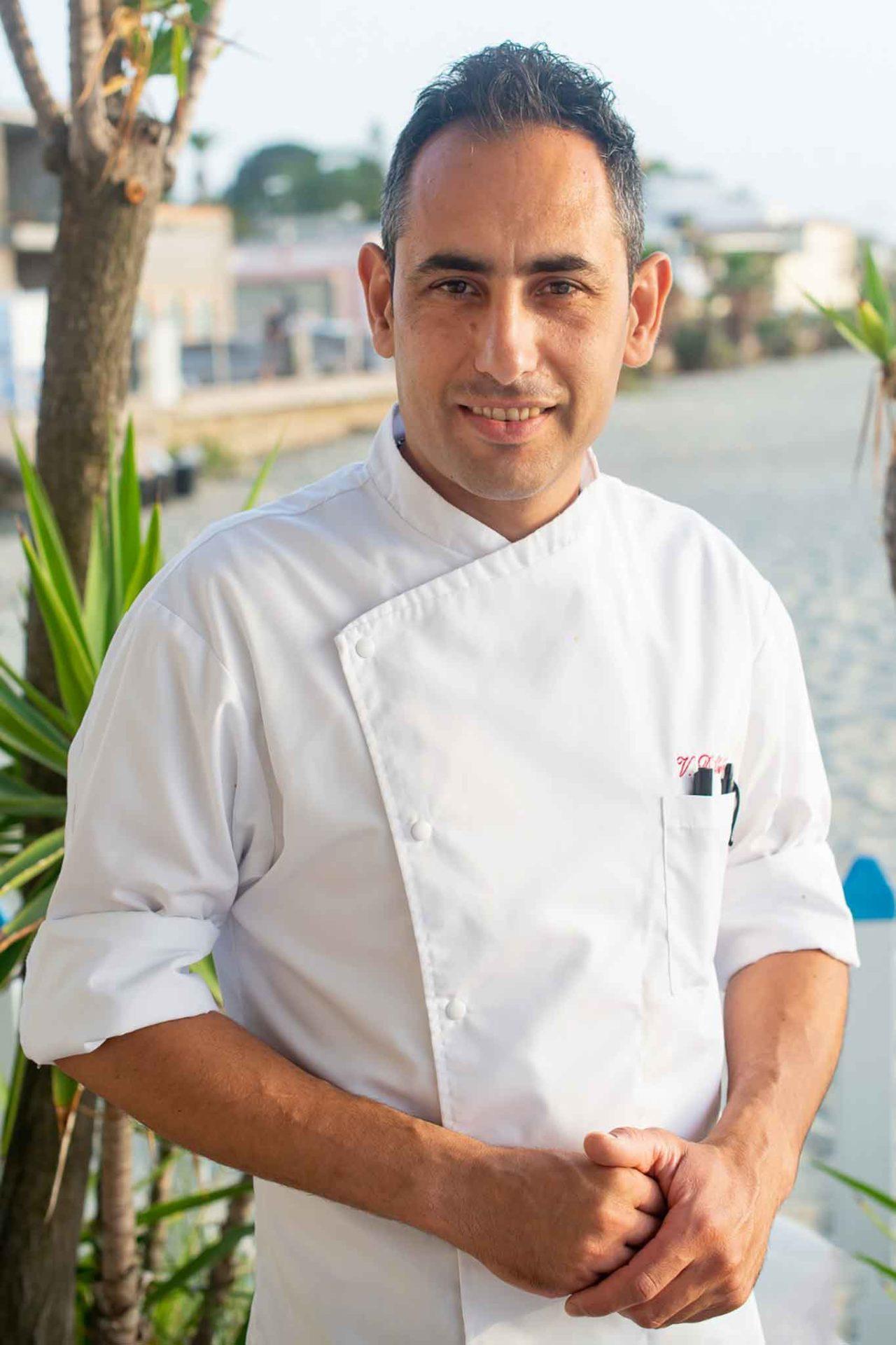 giovane cucina a Ischia: Vincenzo D'Abundo