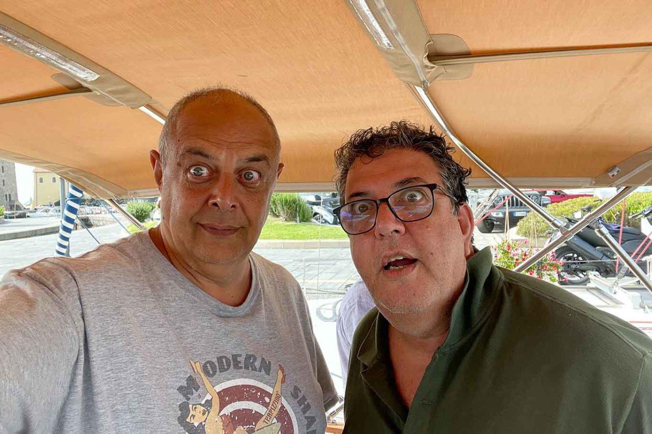 Vincenzo Pagano e Luciano Pignataro