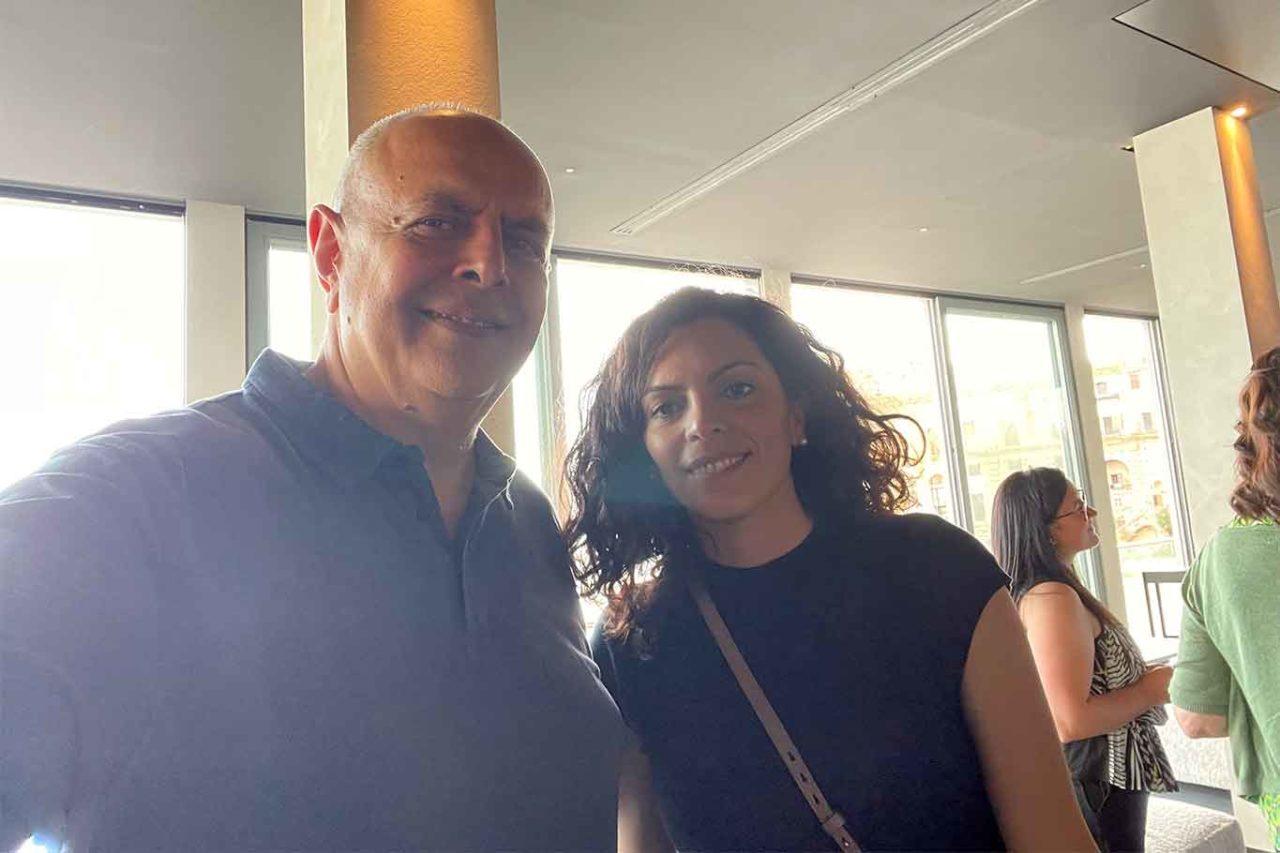 Vincenzo Pagano e Teresa Palmieri