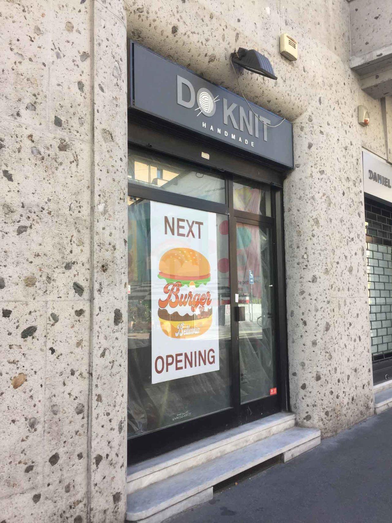 bellavia burger Nuove aperture d'autunno a Milano