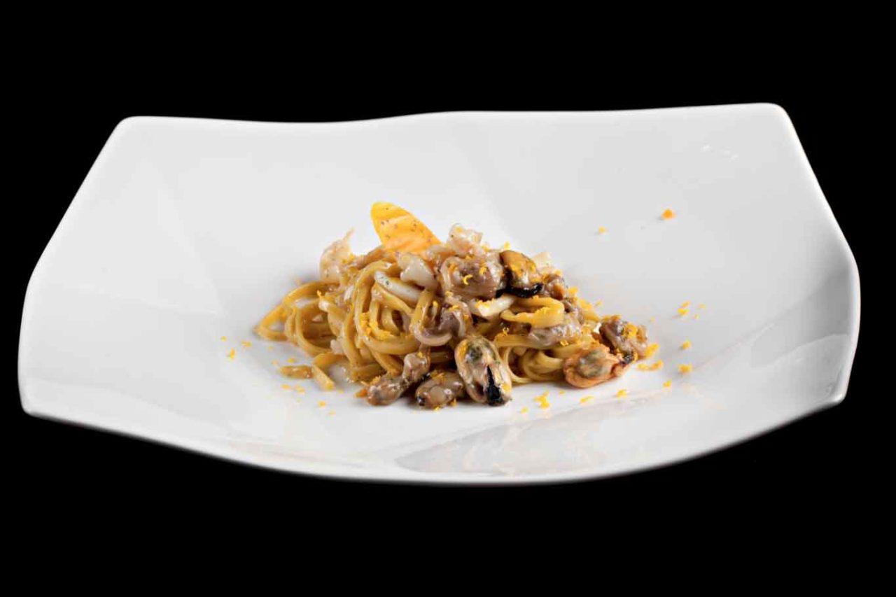 Lunasia 1 stella Michelin a Viareggio: carbonara di mare