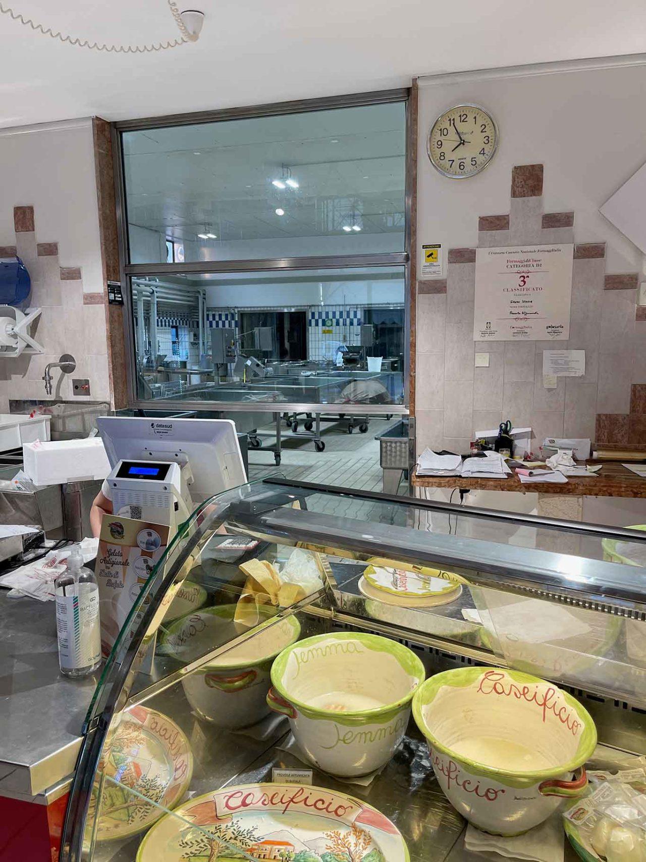 migliori mozzarelle di bufala a Caserta e a Salerno: Jemma
