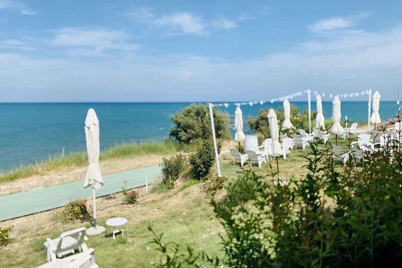 ristorante Caldora Punta Vallevò Abruzzo costa dei trabocchi