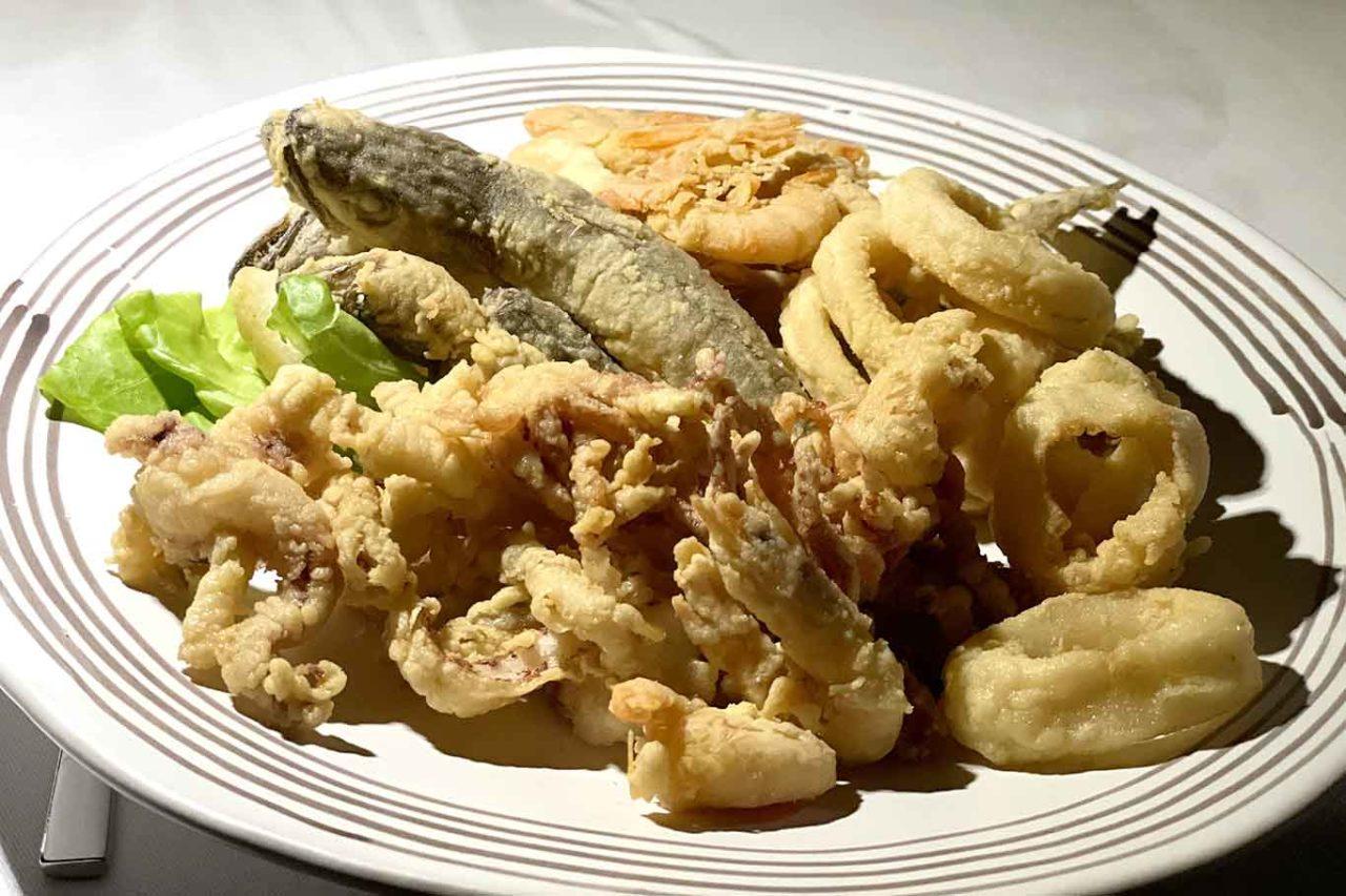 frittura di paranza La Crestarella ristorante Vietri sul Mare
