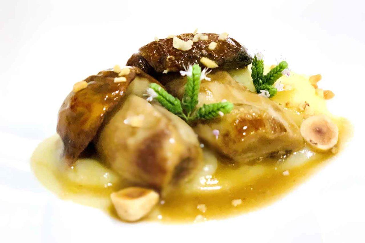 ristorante La Corniola Pescocostanzo funghi