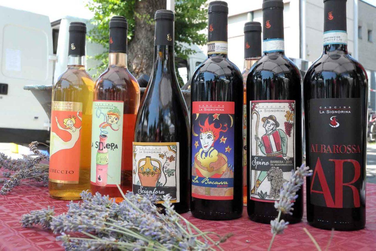 migliori vini naturali del Piemonte: la signorina