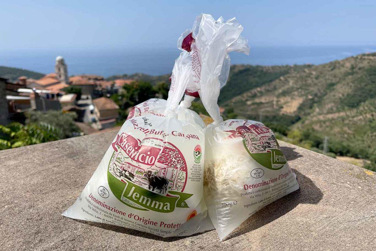 migliori mozzarelle di bufala salernitane: Jemma