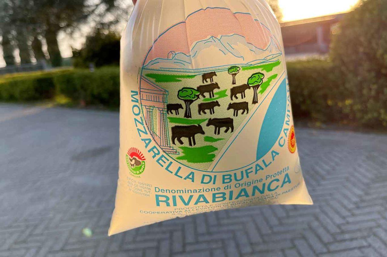 migliori mozzarelle di bufala salernitane: Rivabianca