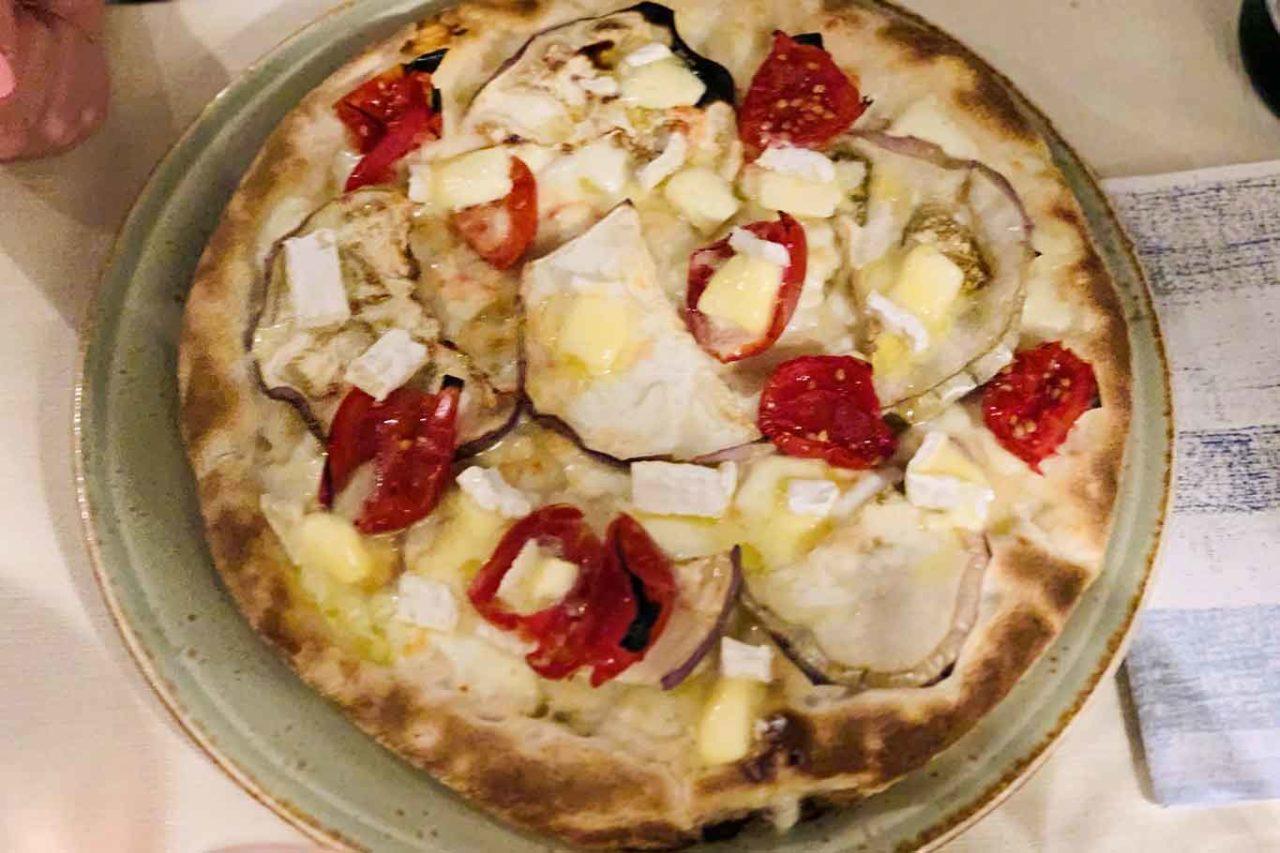 pizzeria Fràgranze Orsogna Abruzzo pizza veg