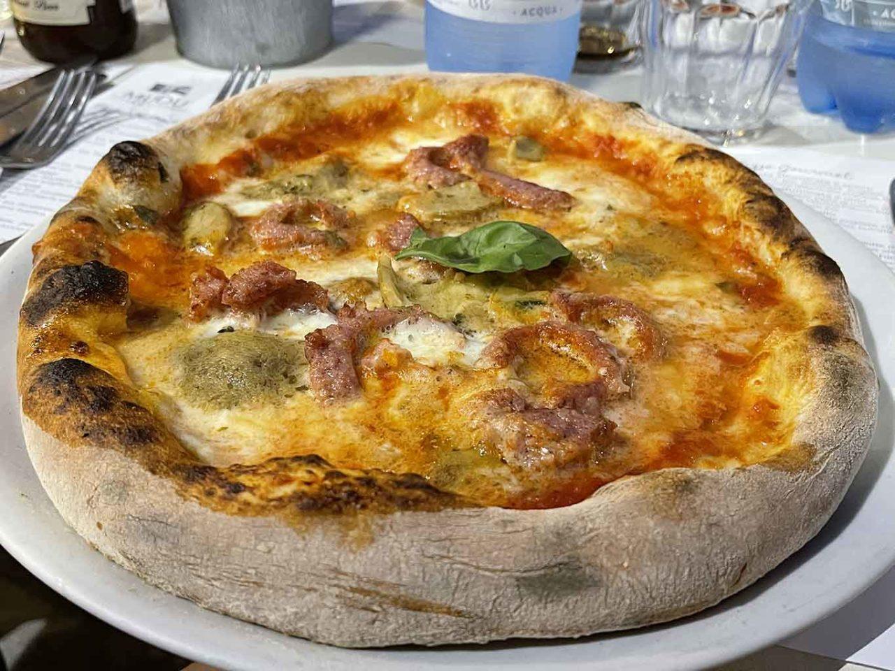 pizza pugliese a Palermo Modù
