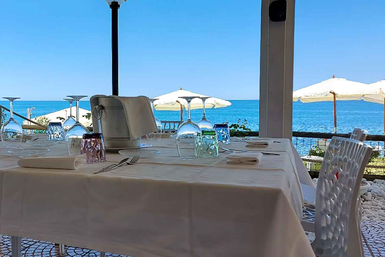 ristorante Caldora Punta Vallevò Abruzzo