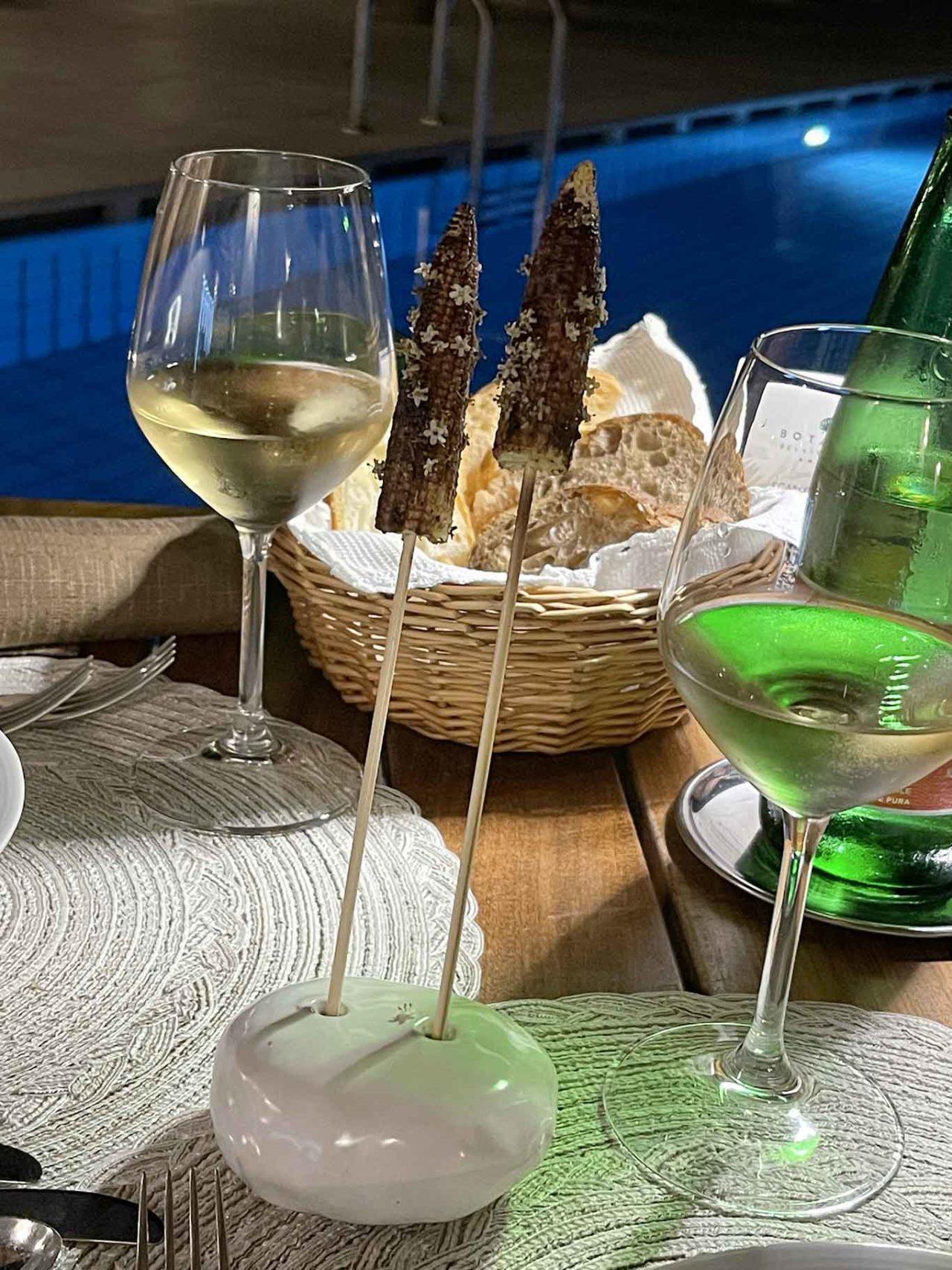 ristorante Il Corbezzolo Botania Relais Ischia: amuse bouche