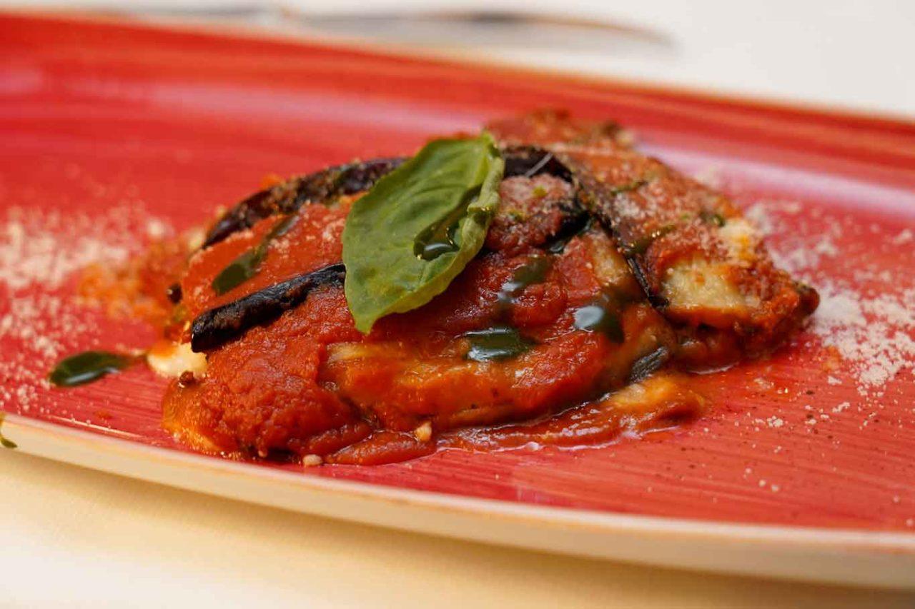 ristorante Il Veliero Acciaroli Cilento parmigiana