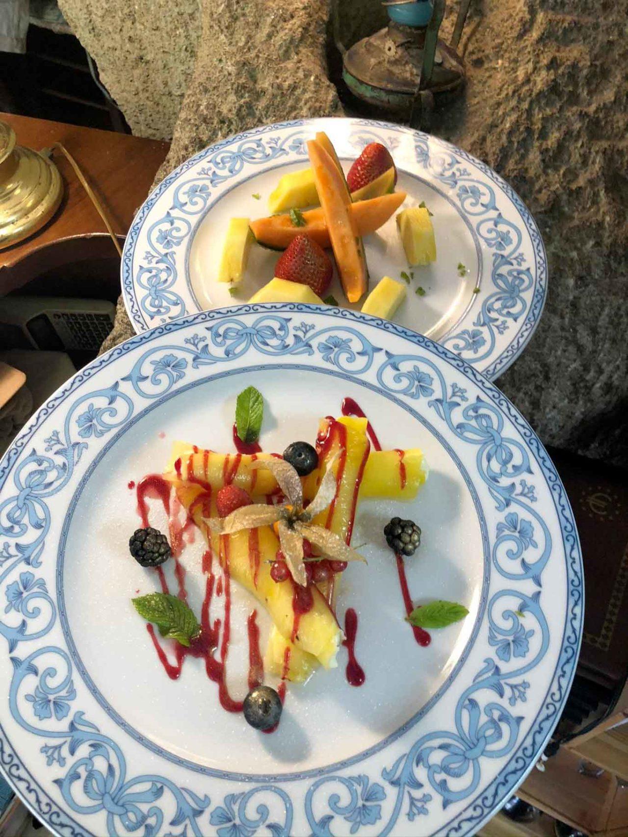 ristorante Montecorvo Forio Ischia ananas