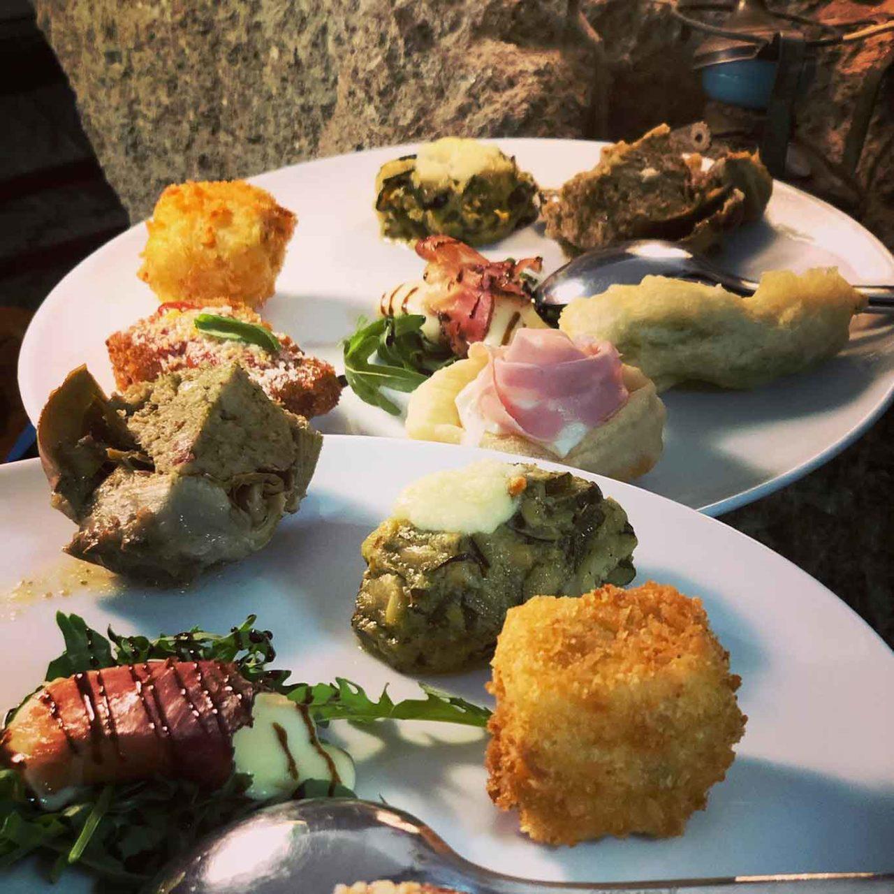 ristorante Montecorvo Forio Ischia antipasti