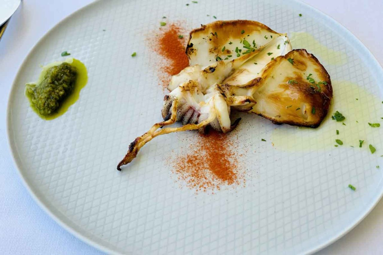 ristorante Caldora Punta Vallevò Abruzzo seppia