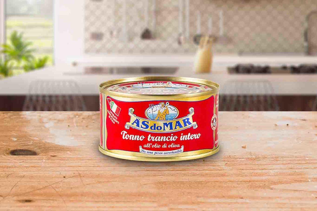 migliore tonno in scatola As do Mar trancio intero