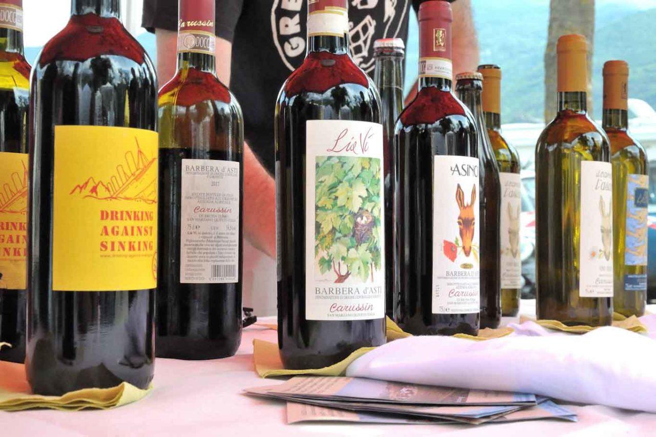 migliori vini naturali del Piemonte: carussin