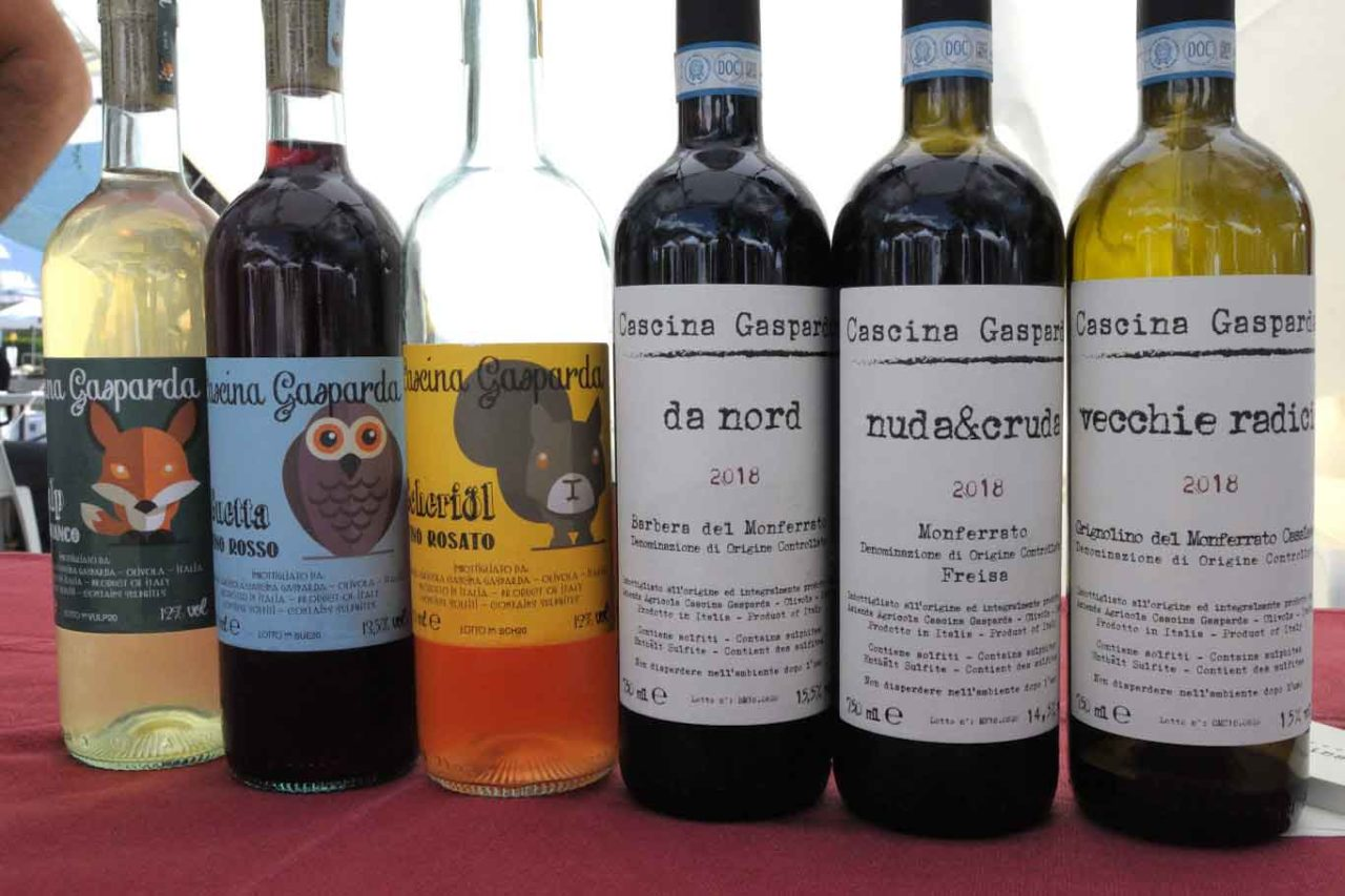 migliori vini naturali del Piemonte: cascina gasparda