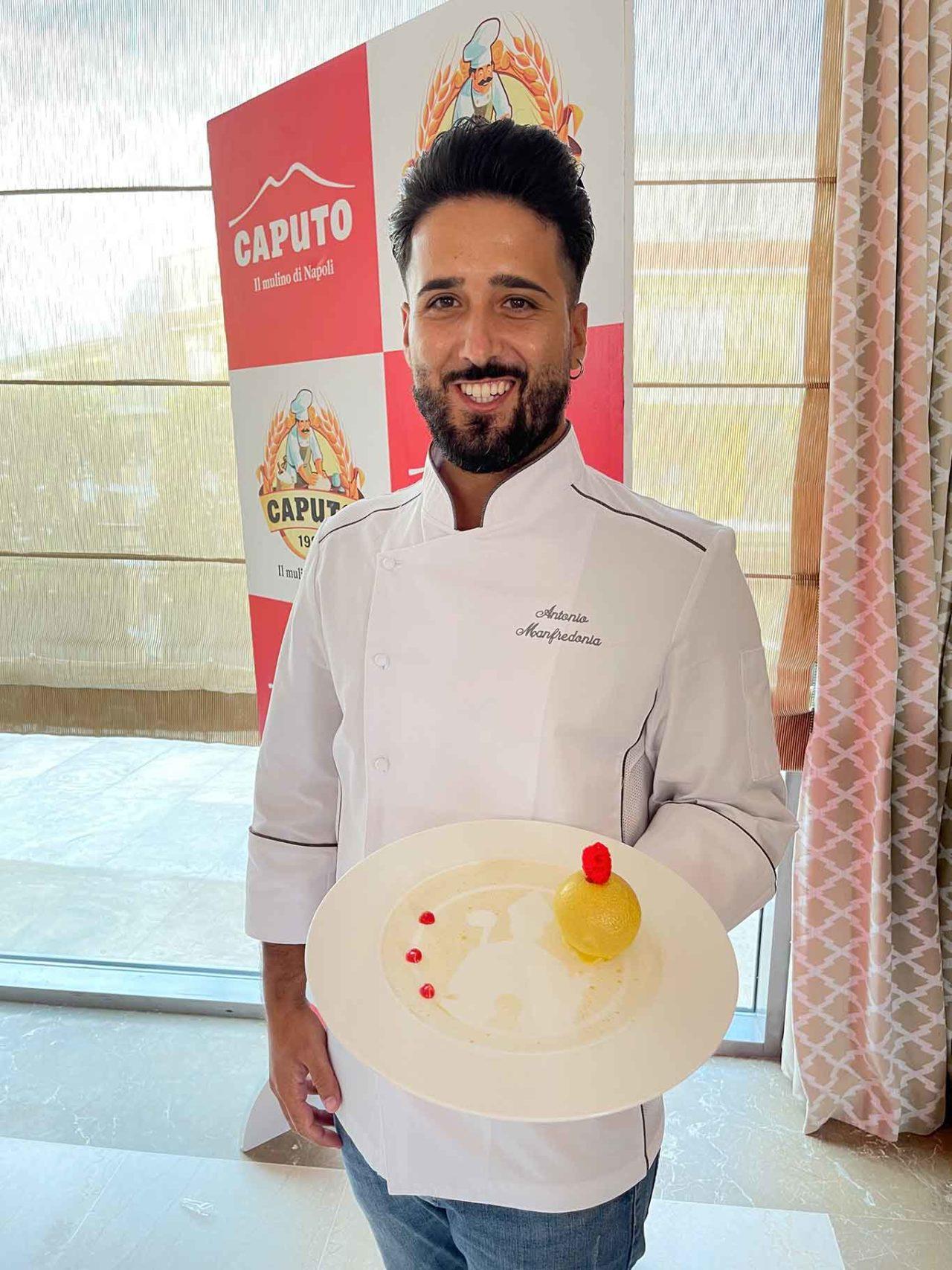 Antonio Manfredonia e il dolce per San Gennaro