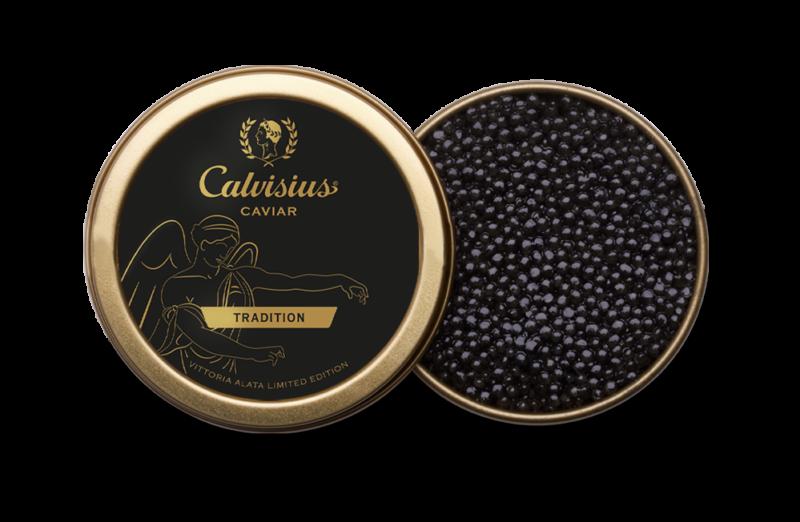 Caviale italiano Calvisius