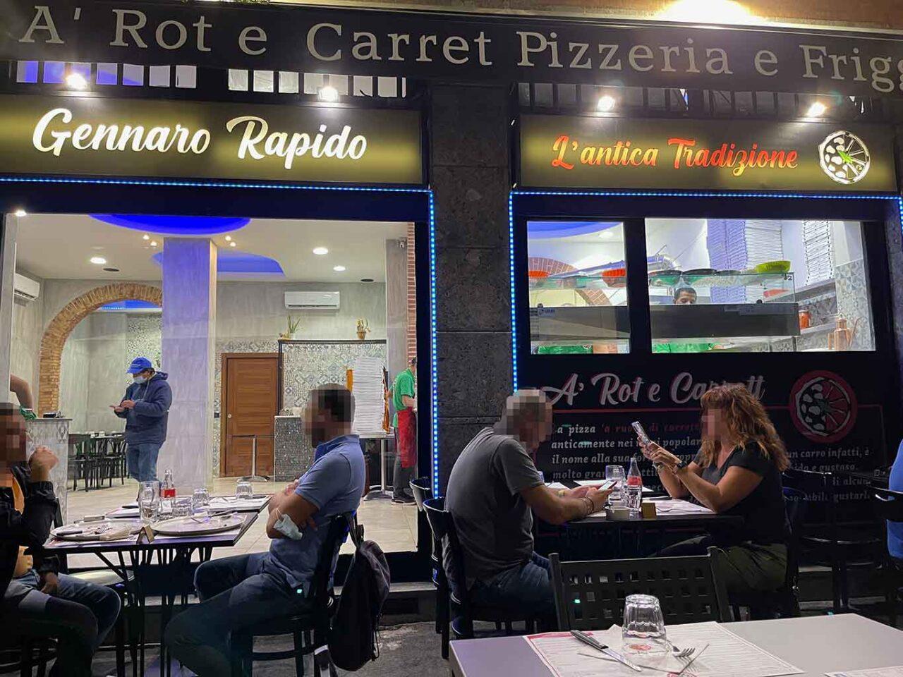 pizzeria a rot e carrett Gennaro Rapido Milano