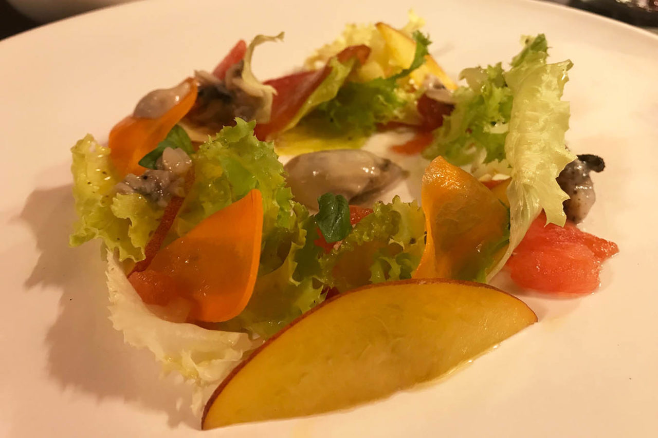 insalata di ostrica La Coldana