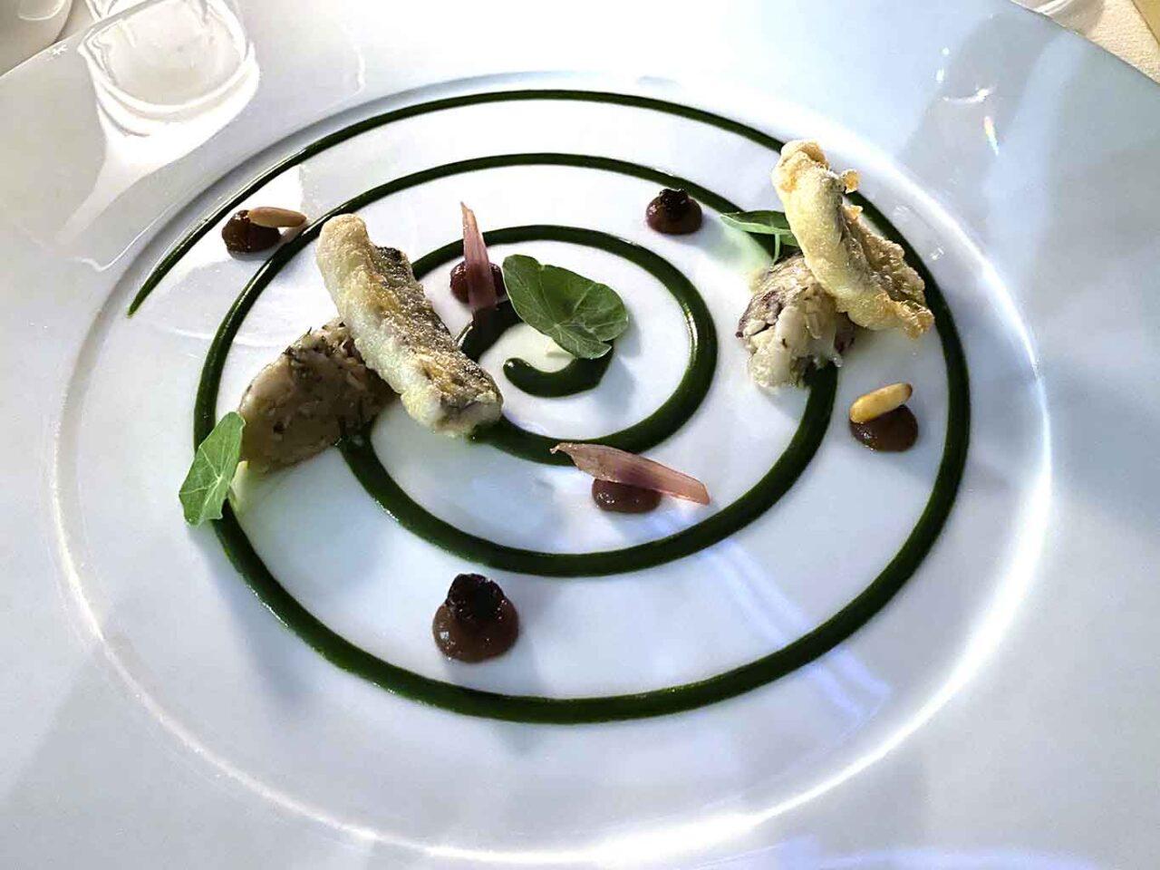 Terrazza Bosquet ristorante Sorrento amuse bouche