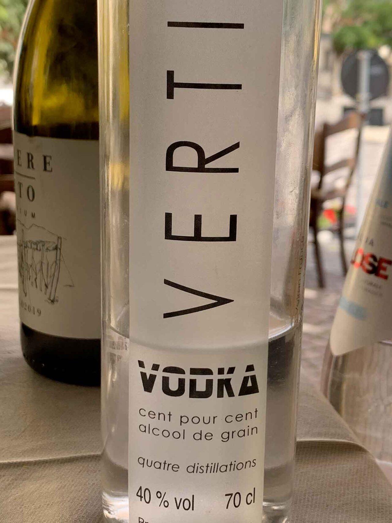 vodka Vertical Chartreuse
