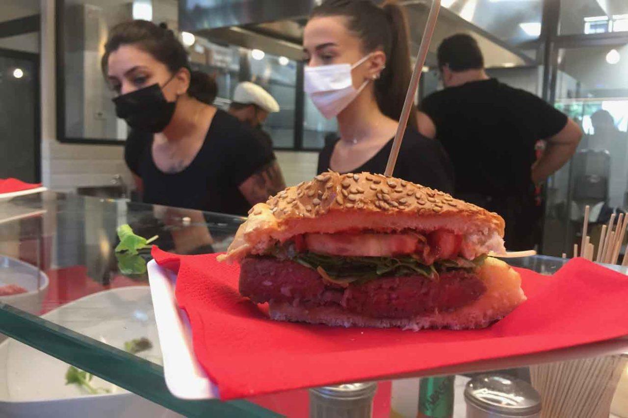 carne savigni hamburger