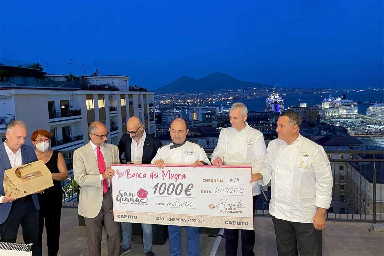 Luigi Avallone vince il contest e l'assegno con il Tortino Gennarì