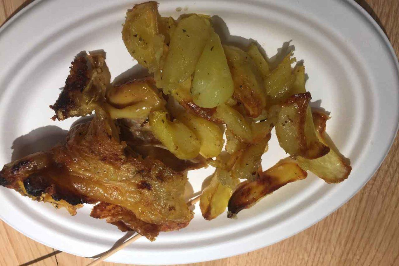 girarrosto pollo patate